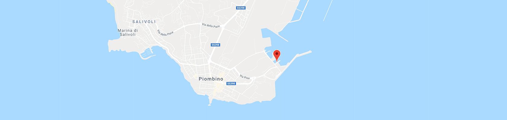 Insel Elba Karte.Hafen Von Piombino Fähren Adresse Kontakte Und Parkplätze